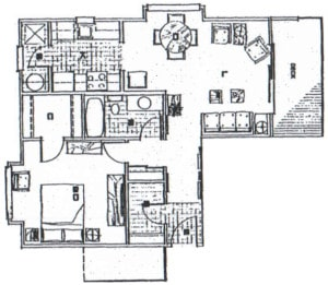 1 Bedroom Deluxe / 676 sq ft
